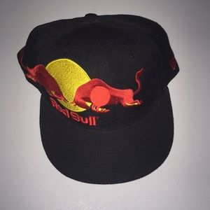 Red Bull Fitted Hat